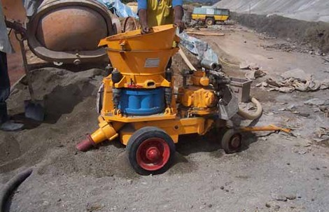 """top ten"" longevity reasons for shotcrete machine"