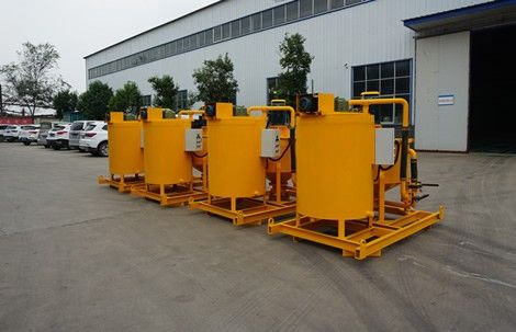 China electric grout mixer used for tunneling