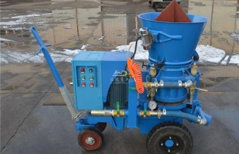 Hot sale refractory shotcrete machine spraying refractory