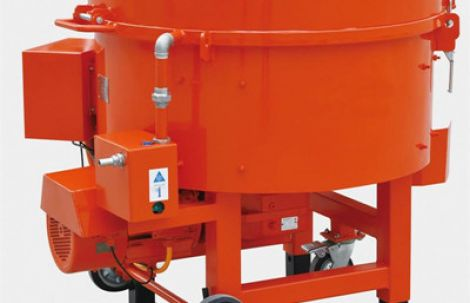 Refractory castable mixer machine for sale